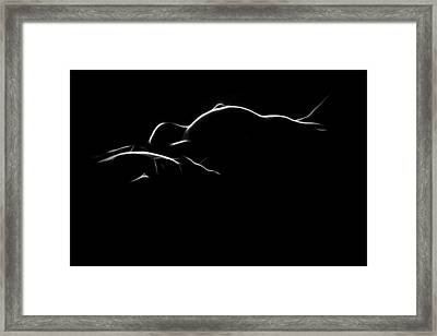 Holy Love Framed Print by Steve K