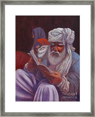 Holy Man Framed Print by J W Kelly