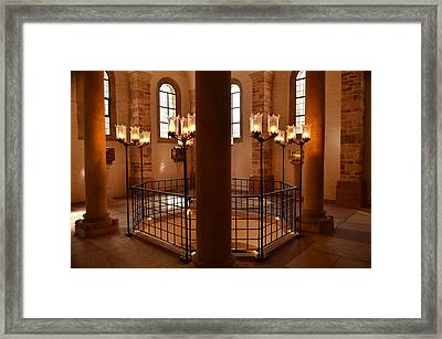 Holy Framed Print by Marty  Cobcroft