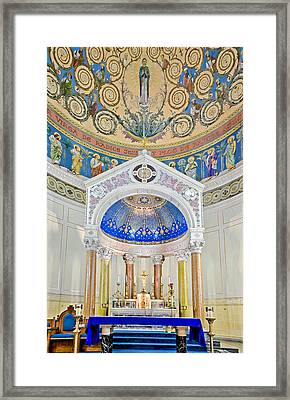 Holy Mary Framed Print by Susan Candelario
