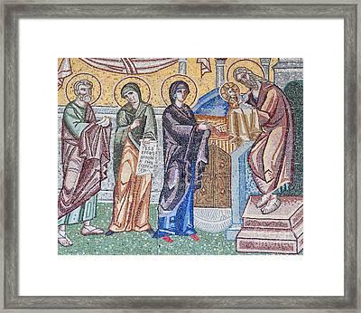 Holy Mosaic Framed Print by Antony McAulay