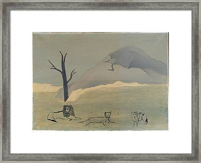 Holy Mountain Iv Framed Print