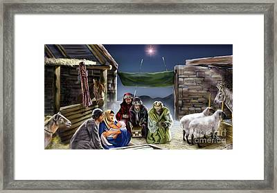 Holy Night Framed Print by Reggie Duffie