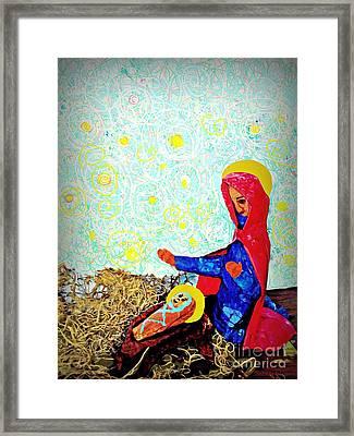 Holy Night Framed Print