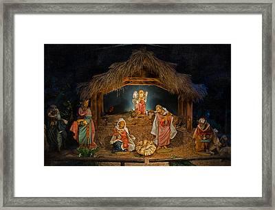 Holy Night Framed Print by Susan  McMenamin