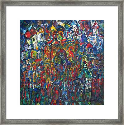 Holy Russia The Beautiful Framed Print by Ivan Filichev