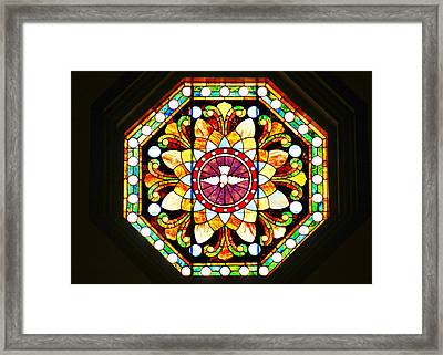 Holy Spirit Framed Print