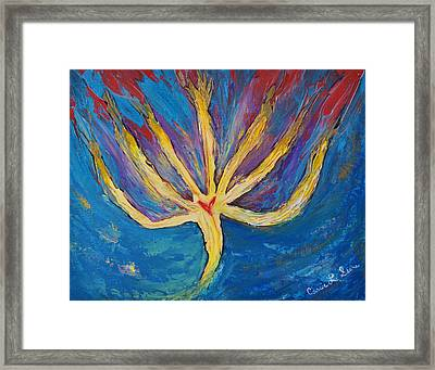 Holy Spirit Which Dwells In You Framed Print by Cassie Sears