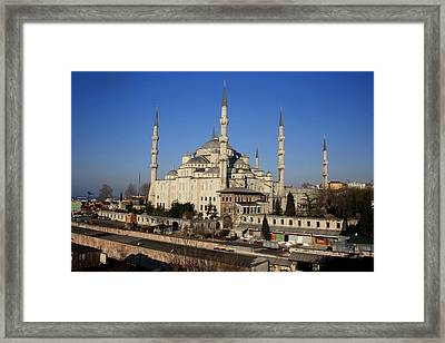 Holy Swords Framed Print by Frederic Vigne