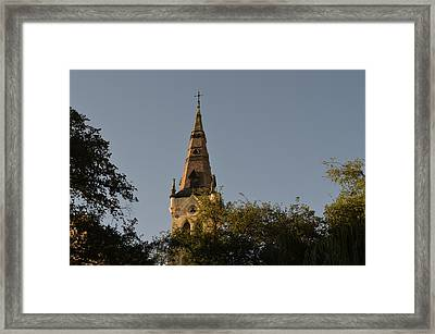 Holy Tower   Framed Print by Shawn Marlow
