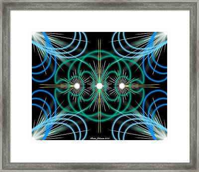 Framed Print featuring the digital art Holy Trinity by Brian Johnson