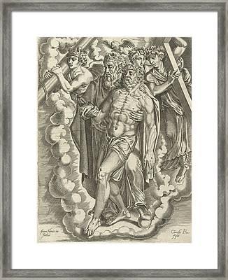 Holy Trinity, Cornelis Bos Framed Print