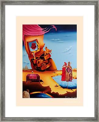 Surreal  Holy Virgin, M27 Framed Print by Johannes Murat