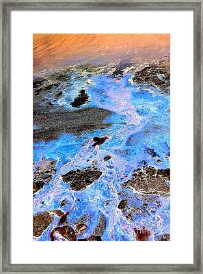 Framed Print featuring the photograph Holy Water by Christine Ricker Brandt