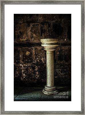Holy Water Framed Print
