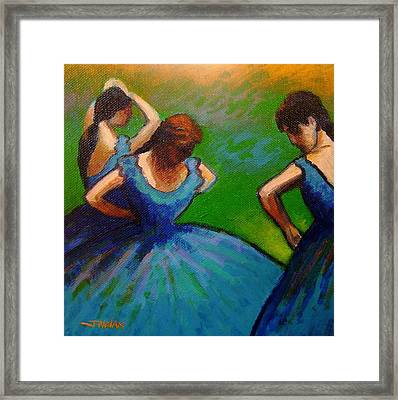 Homage To Degas II Framed Print