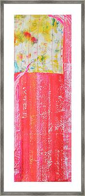Homage To Old Paint Rags Framed Print by Asha Carolyn Young