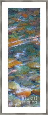 Homage To Van Gogh 2 Framed Print by Carol Groenen