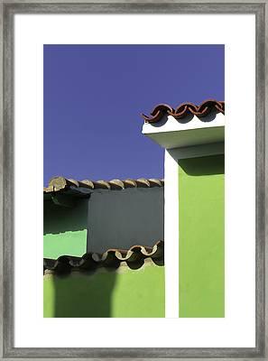 Home.. Framed Print