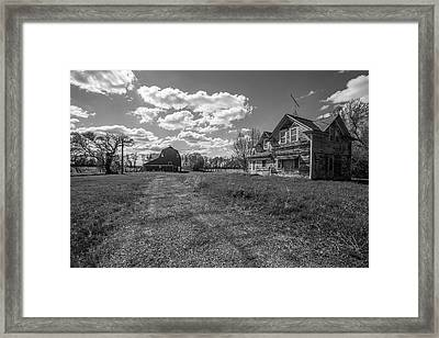Home Framed Print by Aaron J Groen