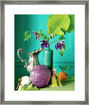 Home Accessories Framed Print by Beatriz Da Costa
