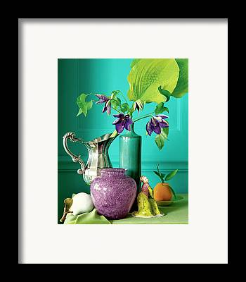 Water Pitcher Framed Prints