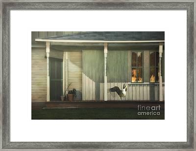 Home Alarm System Framed Print by Tom York Images