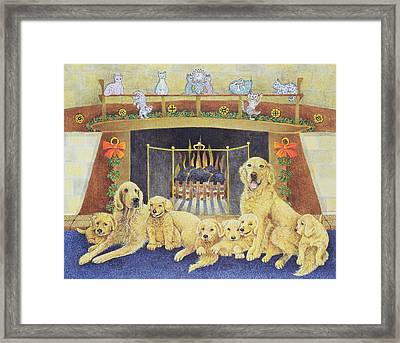 Home And Hearth Framed Print by Pat Scott