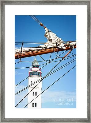 Home At Last Framed Print