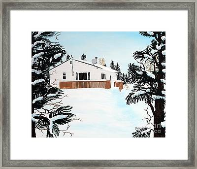 Home Away From Home Framed Print by Barbara Griffin
