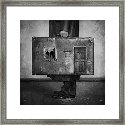 Home Framed Print