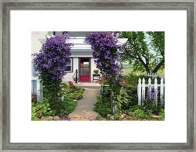 Home Framed Print by Bruce Morrison