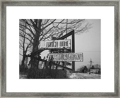 Framed Print featuring the photograph Home Cooking  by Michael Krek