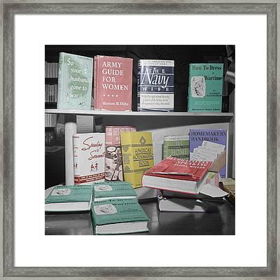 Home Economics Framed Print