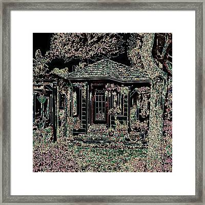 Home Entrance Framed Print