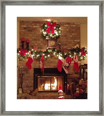 Home For Christmas Framed Print by Dan Sproul