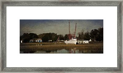 Home For The Day Framed Print