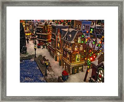 Framed Print featuring the photograph Home For The Holidays by GJ Blackman