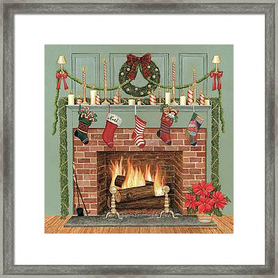 Home For The Holidays I Framed Print by David Carter Brown