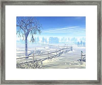 Home For The Holidays Framed Print by John Pangia