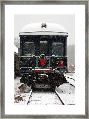 Home For The Holidays Framed Print by Karen Lee Ensley