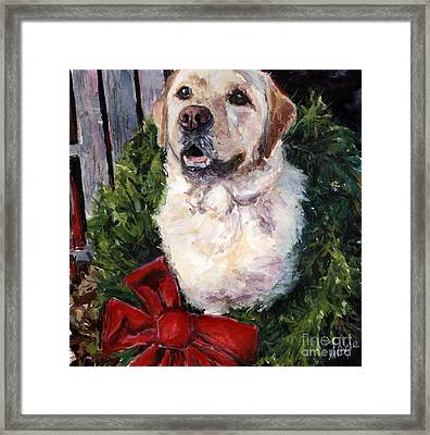 Home For The Holidays Framed Print by Molly Poole