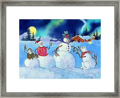 Home For The Holidays Framed Print by Teresa Ascone