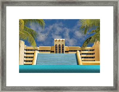 Home For The Winter Framed Print