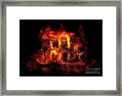 Home Forever Framed Print by Tom Straub