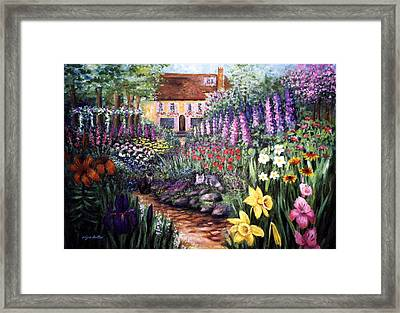 Home Garden Framed Print