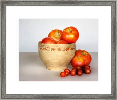 Home Grown Tomatoes II Framed Print