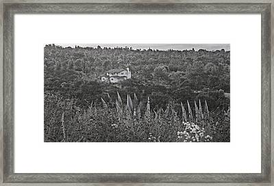 Home In The Hills Framed Print