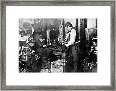 Home Industry, 1900 Framed Print by Granger