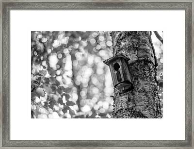 Home Is Where The Heart Is Framed Print by Aaron Aldrich